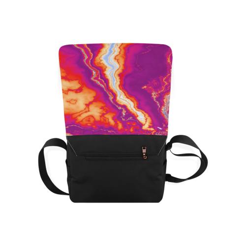 Neon Geode Messenger Bag (Model 1628)