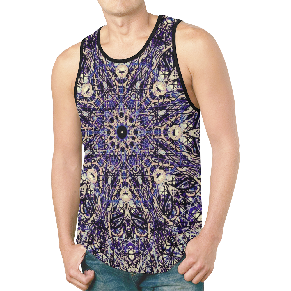 Thleudron Memory New All Over Print Tank Top for Men (Model T46)