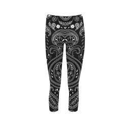 PAISLEY 7 Capri Legging (Model L02)