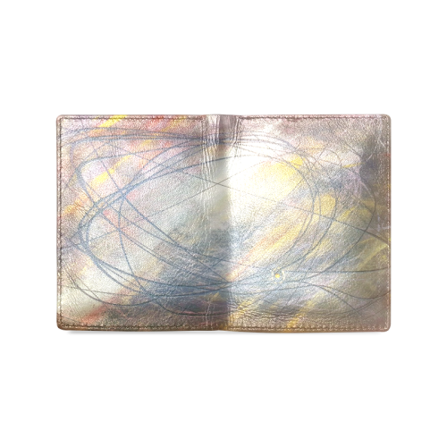 orbit Men's Leather Wallet (Model 1612)
