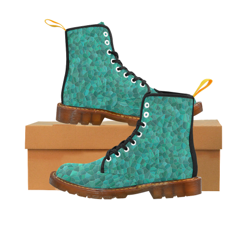 Turquoise Martin Boots For Women Model 1203H
