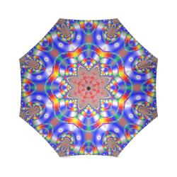 Blue Star Foldable Umbrella (Model U01)
