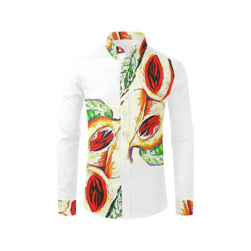 manusartgnd Men's All Over Print Casual Dress Shirt (Model T61)
