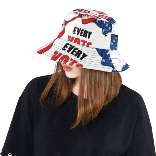 Elections USA 2020 All Over Print Bucket Hat