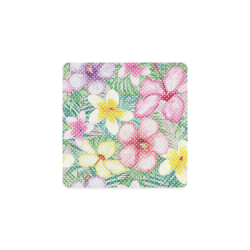 Hawaiian Flowers II Square Coaster