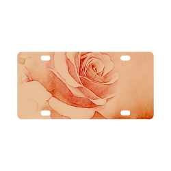 Beautiful roses Classic License Plate