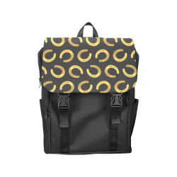 Golden horseshoe Casual Shoulders Backpack (Model 1623)