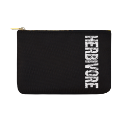 Herbivore (vegan) Carry-All Pouch 12.5''x8.5''