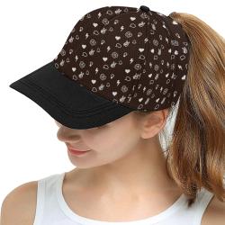 Mindbakery Merch Pattern Snapback All Over Print Snapback Hat D