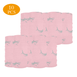 Pink Multifunctional Dust-Proof Headwear (Pack of 10)