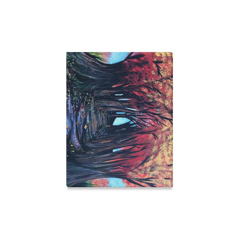 "Autumn Day Canvas Print 14""x11"""