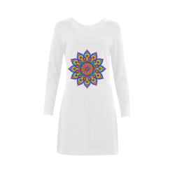 Brilliant Star Mandala Demeter Long Sleeve Nightdress (Model D03)