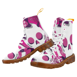 sugar skull Martin Boots For Men Model 1203H