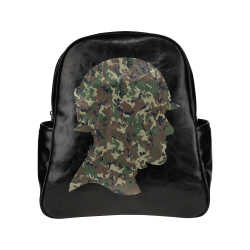 Forest Camouflage Soldier Multi-Pockets Backpack (Model 1636)