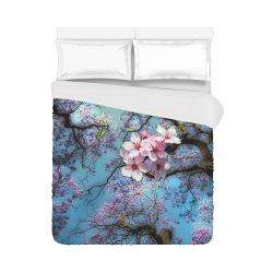"Cherry blossomL Duvet Cover 86""x70"" ( All-over-print)"