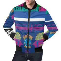 Arturo Shiva All Over Print Bomber Jacket for Men (Model H19)