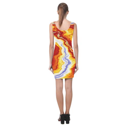 Marble Geode Medea Vest Dress (Model D06)