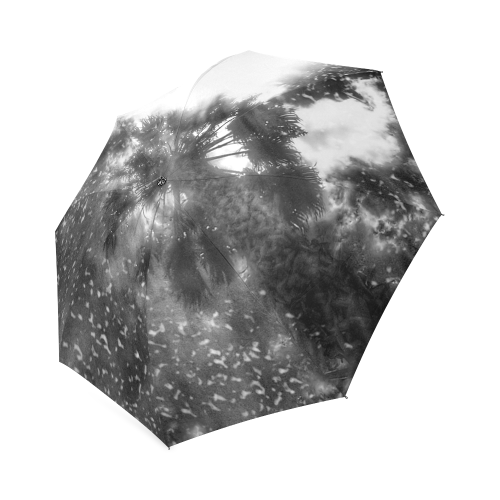 Shining Above In Black Foldable Umbrella (Model U01)