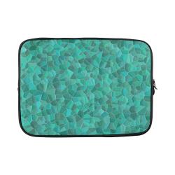 "Turquoise Custom Sleeve for Laptop 15.6"""