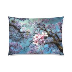 "Cherry blossomL Custom Zippered Pillow Case 20""x30""(Twin Sides)"