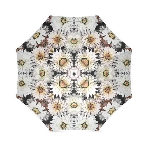 kal8_white_daisy Foldable Umbrella (Model U01)