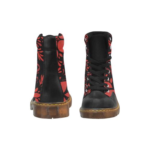 18dr Apache Round Toe Men's Winter Boots (Model 1402)