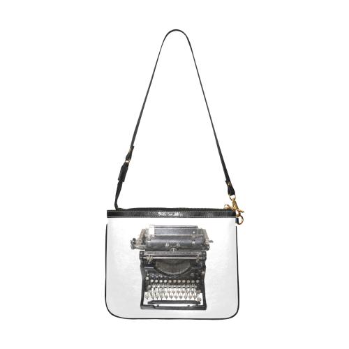 Old black typewriter Small Shoulder Bag (Model 1710)