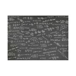 Mathematics Formulas Equations Numbers Placemat 14'' x 19''