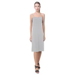 Silver Sand Grey Alcestis Slip Dress (Model D05)