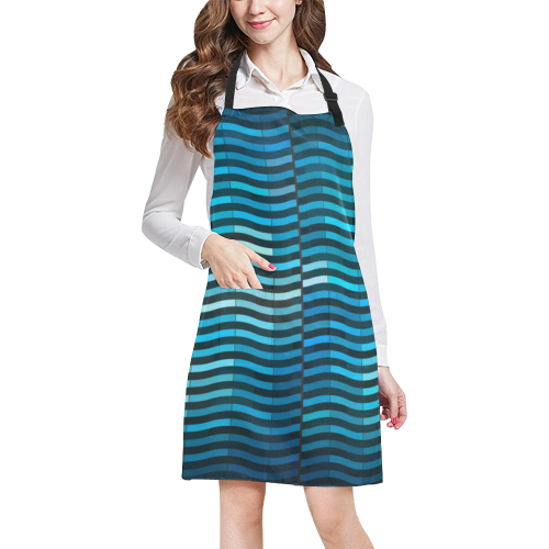 bluewave All Over Print Apron