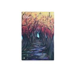 "Autumn Day Canvas Print 12""x18"""