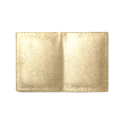 Burlap Coffee Sack Men's Leather Wallet (Model 1612)