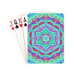 """mandala enfance 2 Playing Cards 2.5""""x3.5"""""""