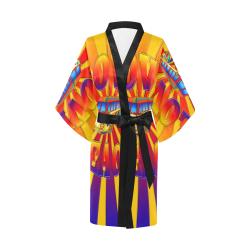 Hippie Love and Peace Kimono Robe