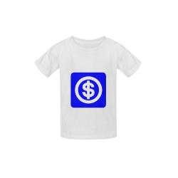 DOLLAR SIGNS 2 Kid's  Classic T-shirt (Model T22)