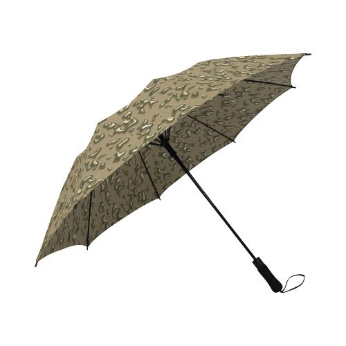 golden drops Semi-Automatic Foldable Umbrella (Model U05)