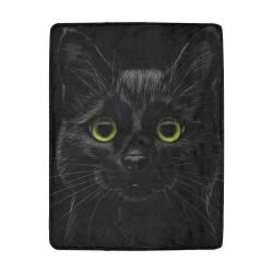 Black Cat Ultra-Soft Micro Fleece Blanket 43''x56''