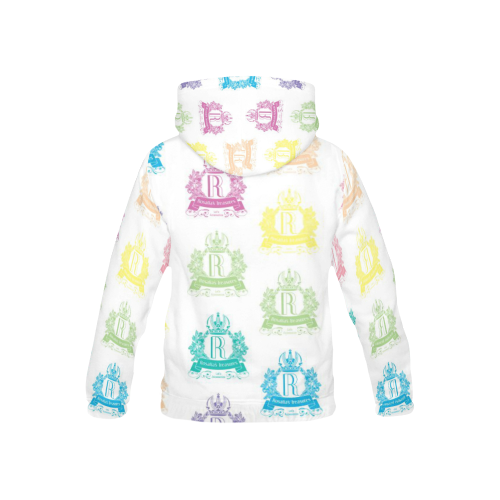 Rosalia's Treasures Internationale All Over Print Hoodie for Kid (USA Size) (Model H13)