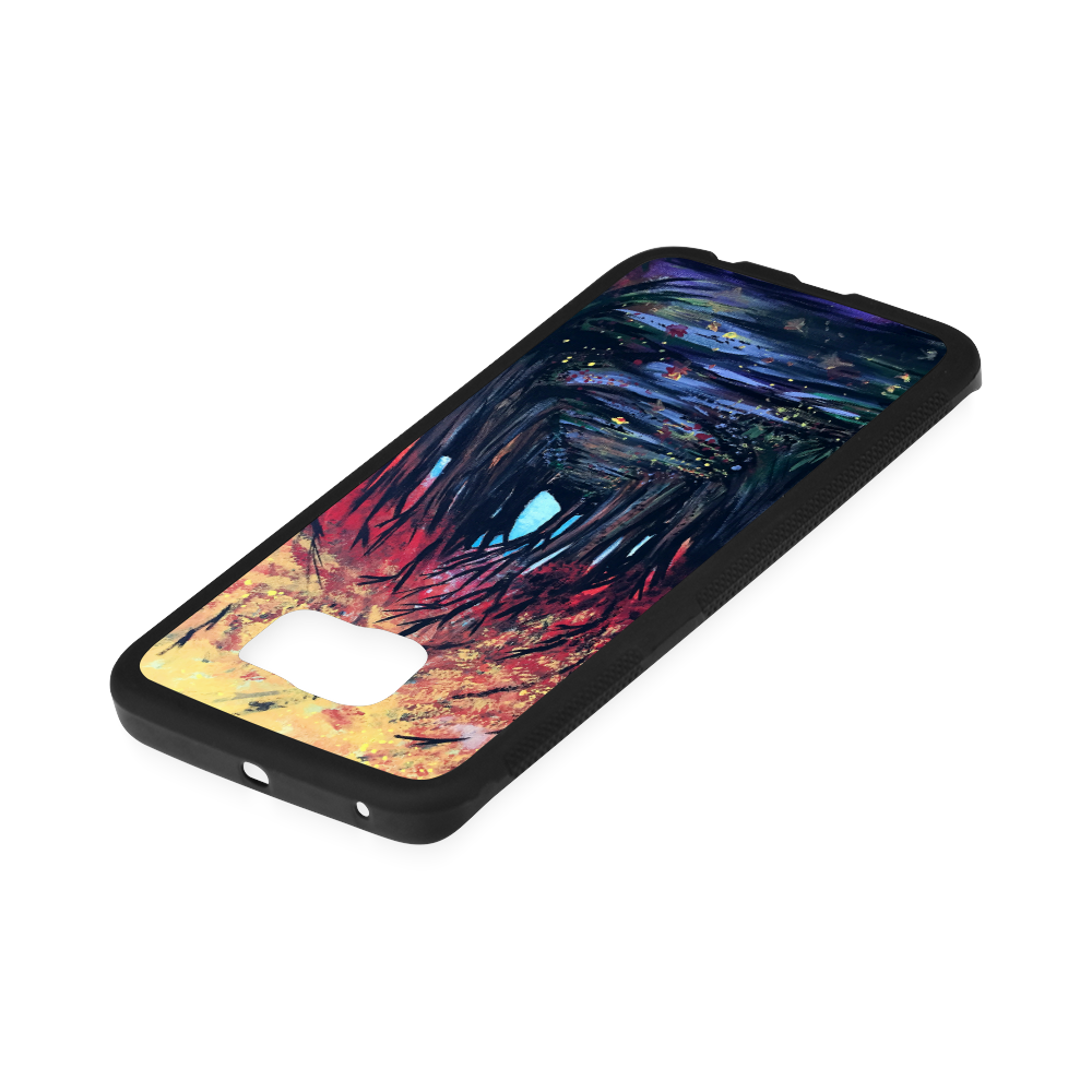 Autumn Day Rubber Case for Samsung Galaxy S6 Edge