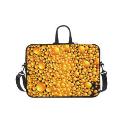 "yellow bubble Laptop Handbags 17"""