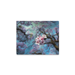 "Cherry blossomL Canvas Print 14""x11"""