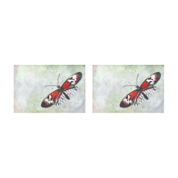 Piano key butterfly Placemat 12'' x 18'' (Two Pieces)