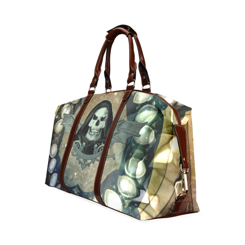 Awesome scary skull Classic Travel Bag (Model 1643) Remake