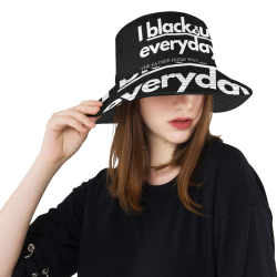 I blackout everyday All Over Print Bucket Hat