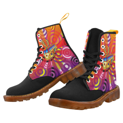 Hippie Travel Bus Martin Boots For Women Model 1203H