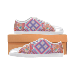 Researcher Canvas Shoes for Women/Large Size (Model 016)