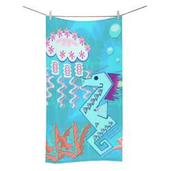 "Tribal Ocean Bath Towel 30""x56"""