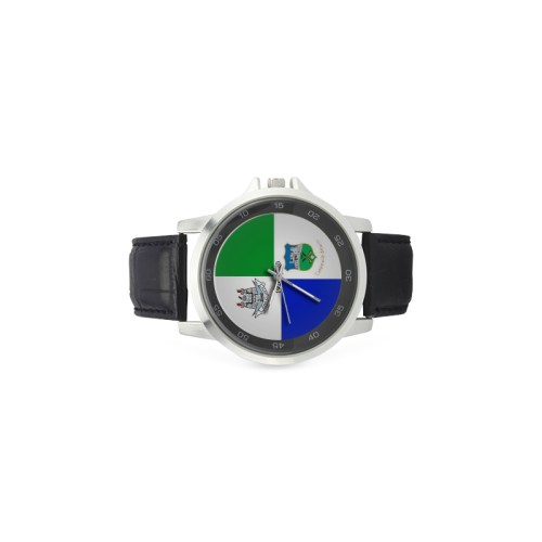 Bloody Sunday Memorial Watch Unisex Stainless Steel Leather Strap Watch(Model 202)