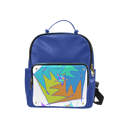 Abstract Design 2020 Campus backpack/Large (Model 1650)