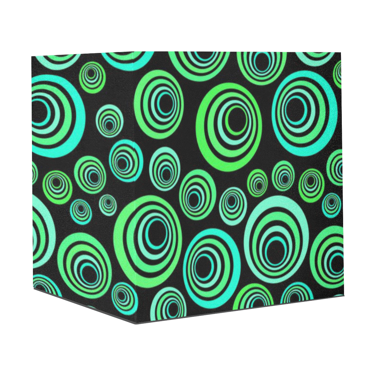"""Crazy Fun Neon Blue & Green retro pattern Gift Wrapping Paper 58""""x 23"""" (1 Roll)"""